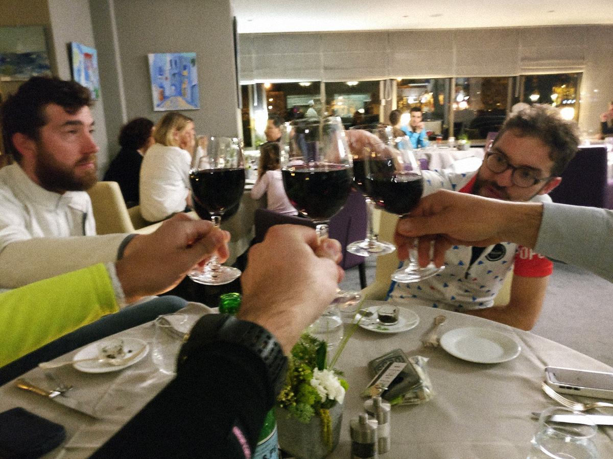 La cena prima della Roubaix - Cicloidi blog