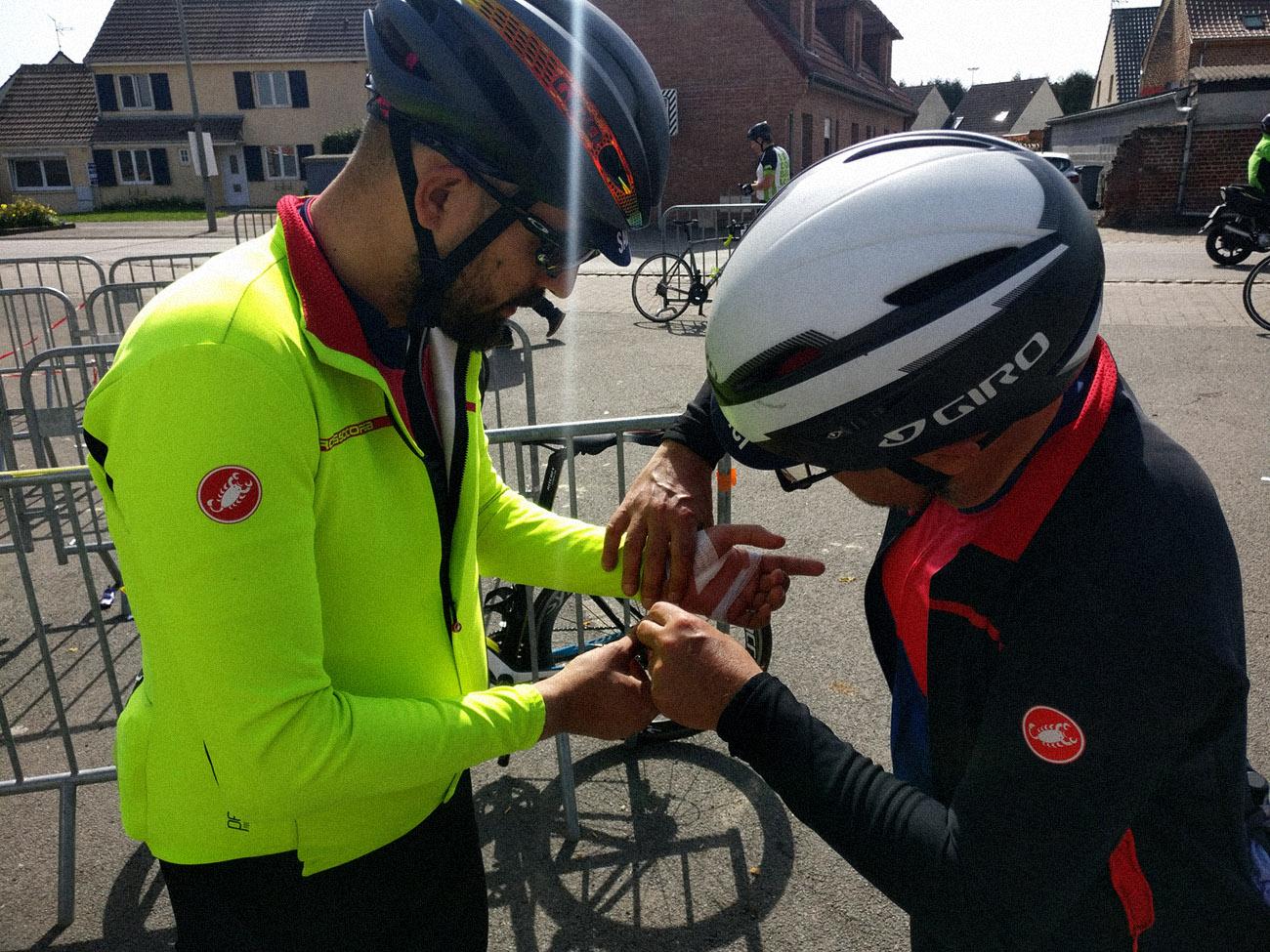 Medicazione alla Roubaix - Cicloidi blog