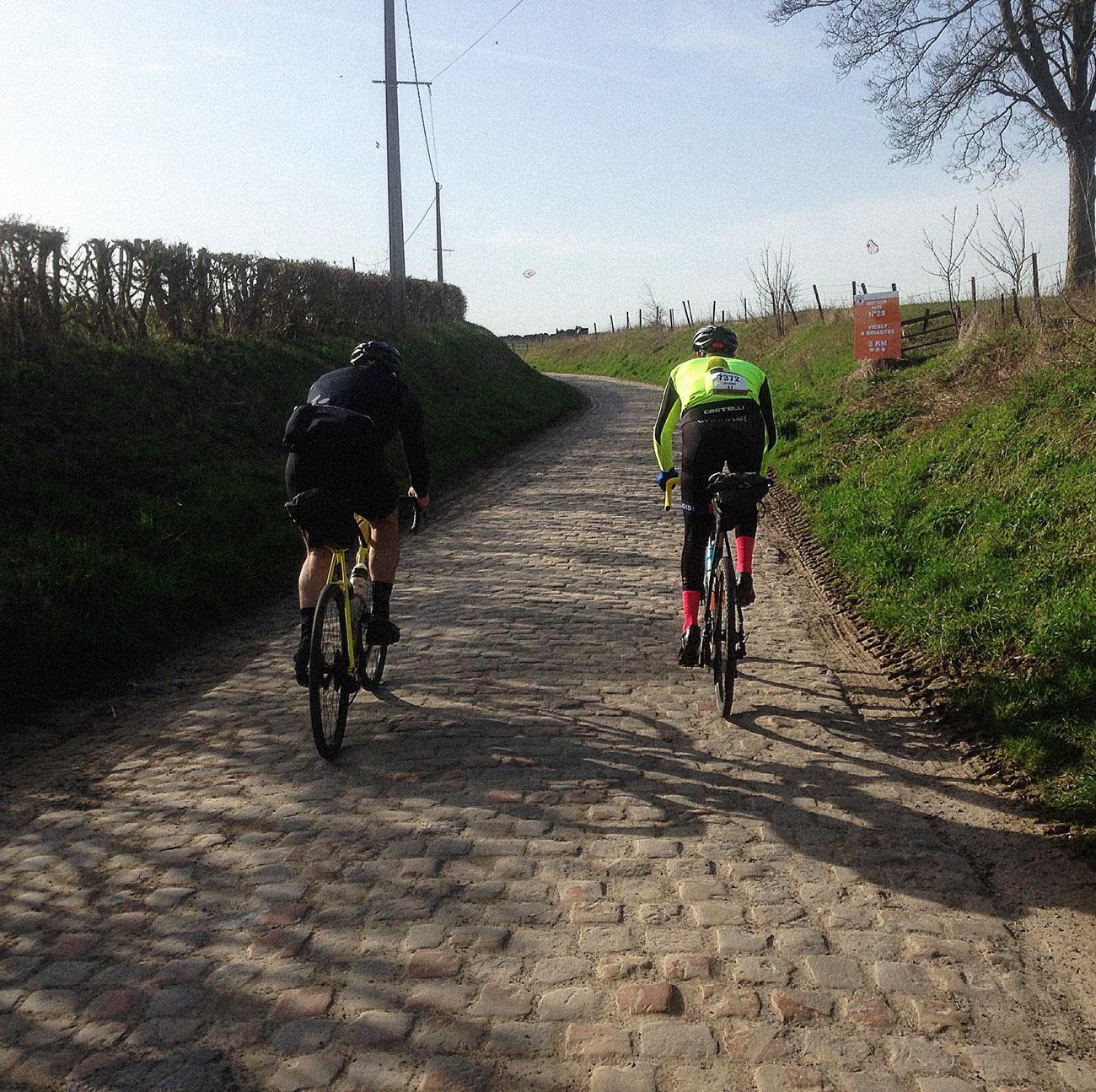 Vitto e Gio alla Roubaix - Cicloidi blog